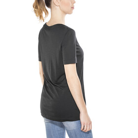 super.natural Oversize Tee - Camiseta manga corta Mujer - negro